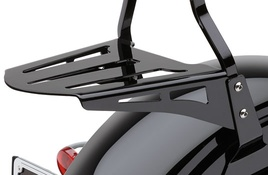 Sissy Bar Luggage Rack (Formed - Black)
