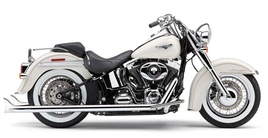 Softail Duals with Fishtails