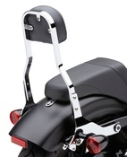 Square Short Detachable Backrest (Black)